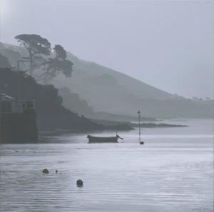 Early morning mist - Trefusis