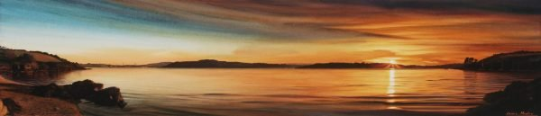 Sunset Over The Fal Estuary