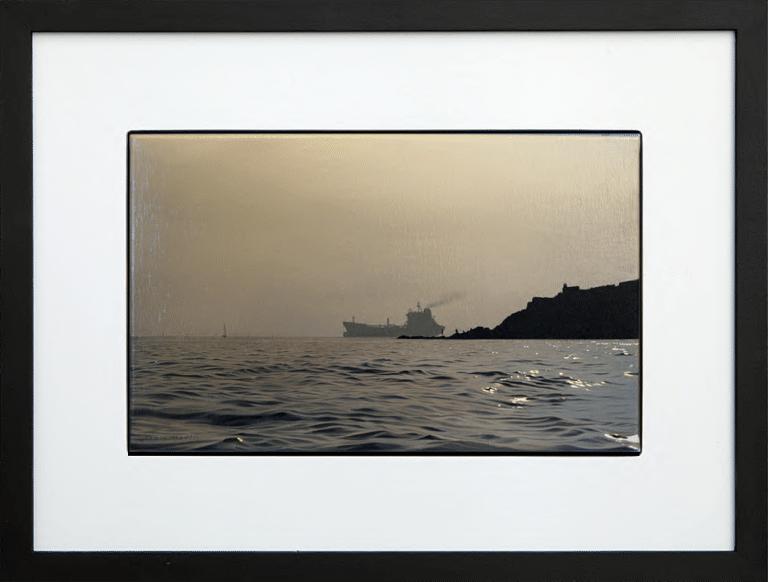 Tanker - Falmouth Bay
